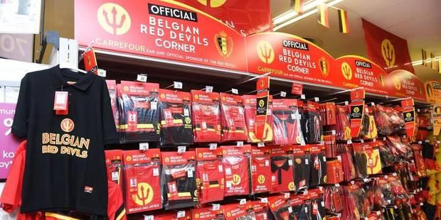 J-45: Carrefour présente le 'Belgian Red Devils Corner' - La DH