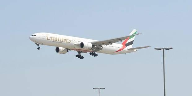 La compagnie Emirates en septembre à Brussels Airport - La DH