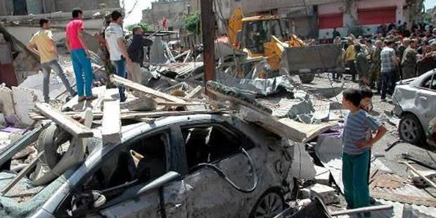 Syrie: au moins 100 morts dans un double attentat à Homs - La DH