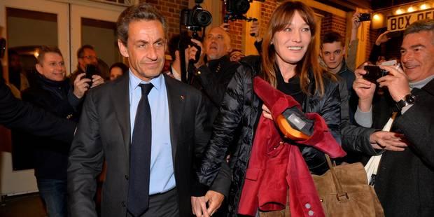En tant qu'épouse, Carla Bruni souhaite que son mari ne soit pas candidat en 2017 - La DH