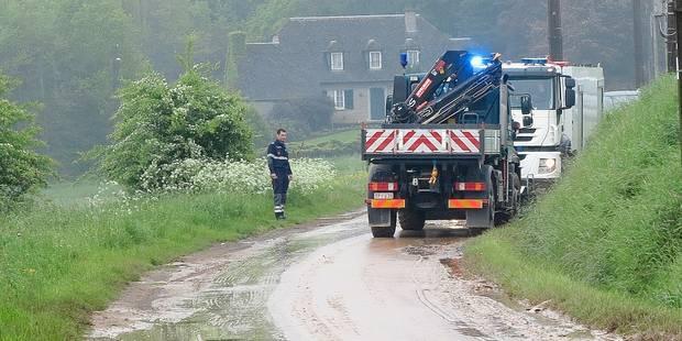 Une coulée de boue provoque un accident - La DH