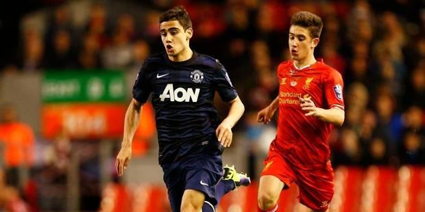 Le joli but d'un espoir belgo-brésilien de Manchester United - La DH