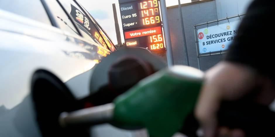Le prix de l'essence en baisse mardi