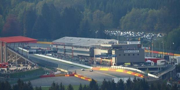 Accident mortel sur le circuit de Spa-Francorchamps
