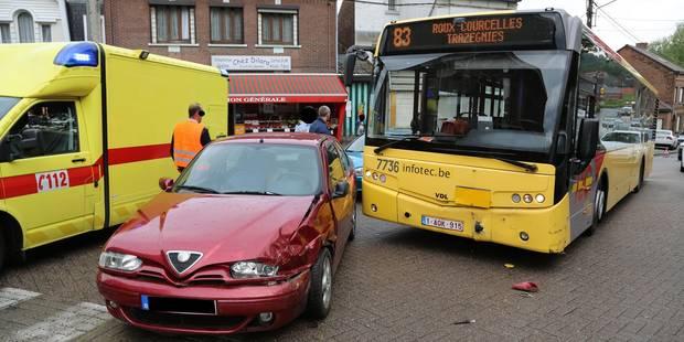 Roux: un enfant blessé lors d'une collision avec un bus - La DH
