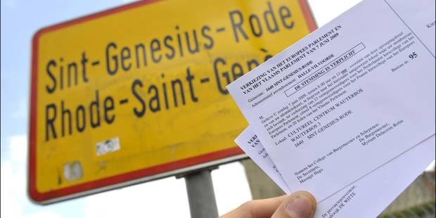 Rhode-Saint-Genèse enverra aussi les convocations électorales dans les deux langues - La DH
