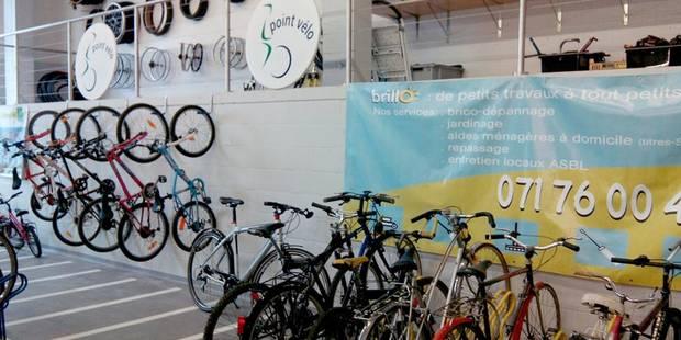 Un Point vélo à la gare à Charleroi - La DH