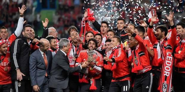 Après le championnat, Benfica s'offre la Coupe de la Ligue - La DH