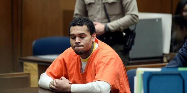 Chris Brown condamné à un an de prison à Los Angeles - La DH