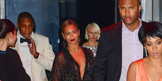 La soeur de Beyoncé frappe Jay Z - La DH