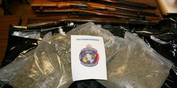 Trafic de stupéfiants démantelé - La DH
