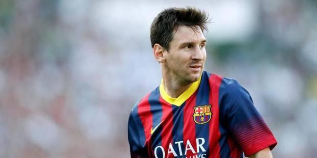 L'histoire d'amour continue entre le Bar�a et Messi