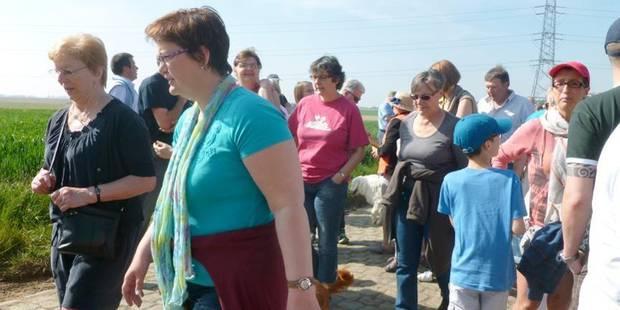 500 manifestants contre le projet du zoning - La DH