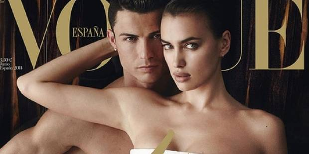 Ronaldo et sa compagne très « hot » pour Vogue - La DH