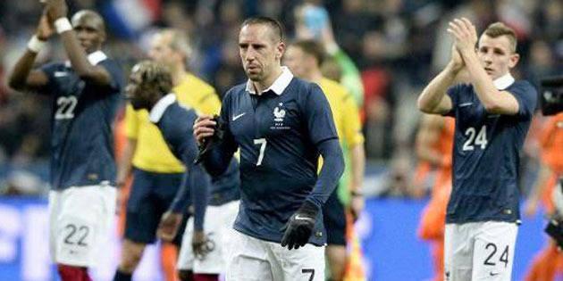 "Ribéry: au Brésil ""ça sera ma dernière coupe du monde"""