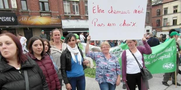 Les chômeurs et leurs formateurs dans la rue - La DH