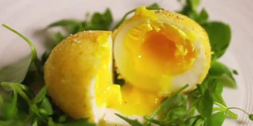 Recette du 26 mai sur DH Radio: L'oeuf mollet frit, cr�me de truffe - DH.be