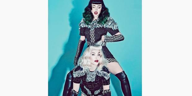 Madonna et Katy Perry, version SM - La DH
