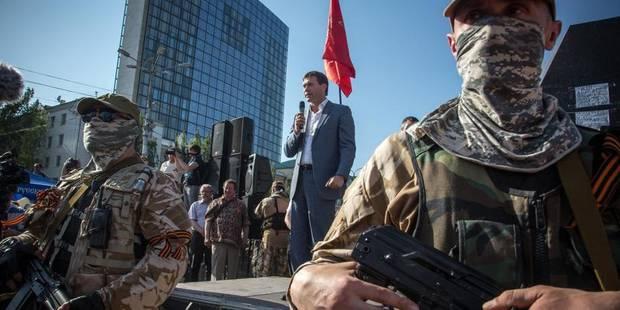 Ukraine: l'est du pays, comme coupé de la présidentielle - La DH