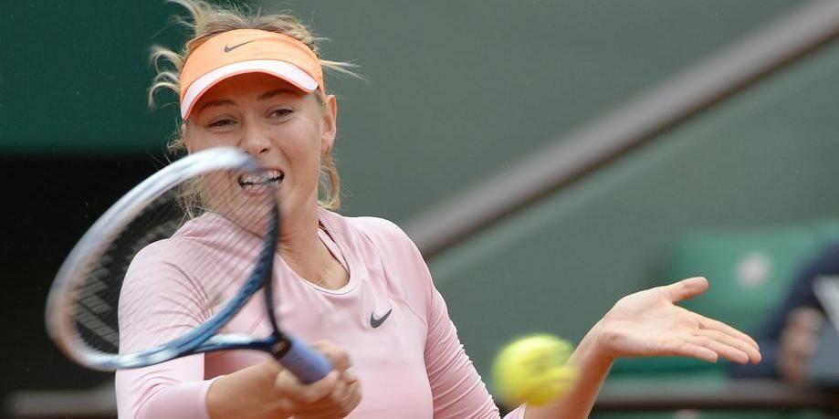 Roland-Garros: Maria Sharapova tranquillement au deuxième tour