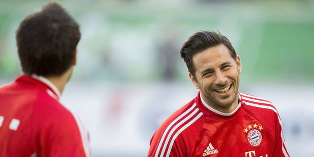 Pizarro prolonge son contrat d'un an au Bayern - La DH