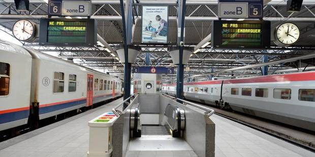 Alerte � la bombe � la gare du Midi: des passagers �vacu�s... pour rien