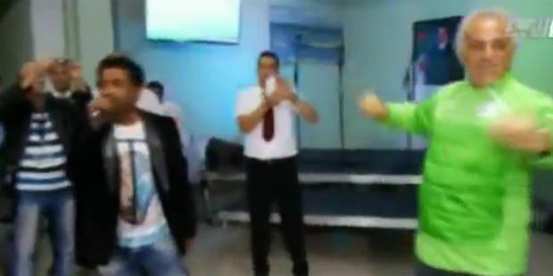 Barbecue, karaoké et danse pour Vahid et la sélection algérienne - La DH
