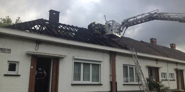 Deux maisons détruites par un incendie à Farciennes - La DH