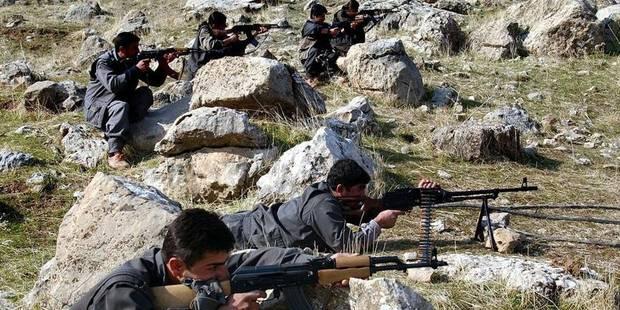 Le PKK dispense des entraînements depuis la Belgique - La DH