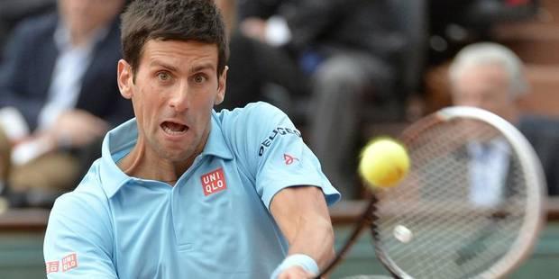 Roland-Garros: Djokovic tranquille, Federer éliminé - La DH