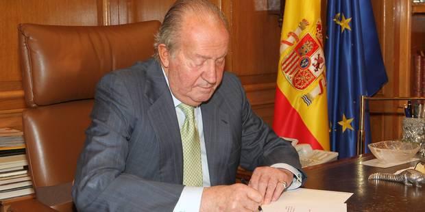 """Roi Juan Carlos: """"Je remercie le peuple espagnol"""" - La DH"""