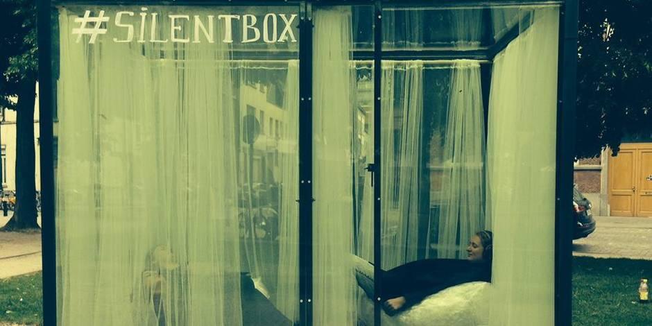 "S'isoler en plein coeur de Bruxelles dans une ""Silent Box"""