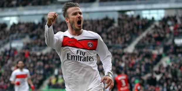 Beckham bientôt propriétaire-joueur ? - La DH