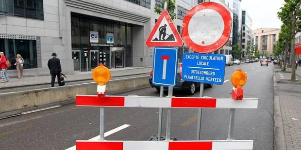 G7 � Bruxelles: Les zones � �viter