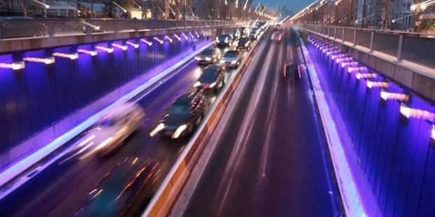 Embarras de circulation dans les tunnels Vleurgat et Stéphanie à cause des fortes pluies - La DH