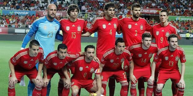 Mondial 2014: Les Espagnols recevront 720.000 euros s'ils conservent leur titre - La DH
