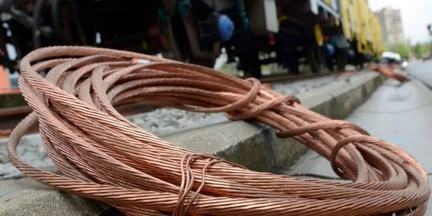 Quatre voleurs de câbles ferroviaires interceptés à Fleurus - La DH