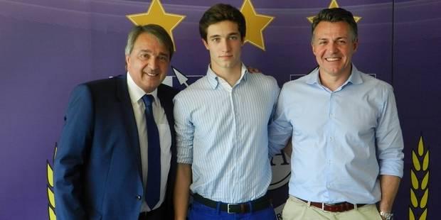 Hervé Matthys signe son premier contrat pro à Anderlecht - La DH