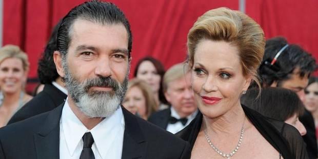 Antonio Banderas et Melanie Griffith annoncent leur divorce - La DH