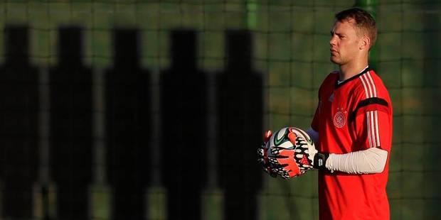 Allemagne: Neuer reprend un entraînement normal - La DH