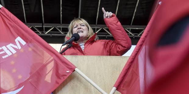 Anne Demelenne va quitter la tête de la FGTB - La DH