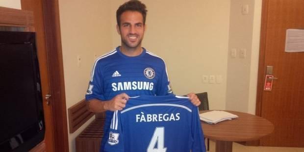 Fabregas signe à Chelsea - La DH