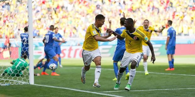 La Grèce impuissante face à la Colombie (3-0) - La DH