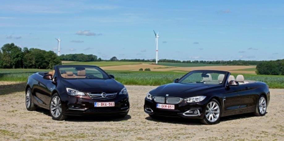 Le match des cabrios: BMW vs Opel - La DH