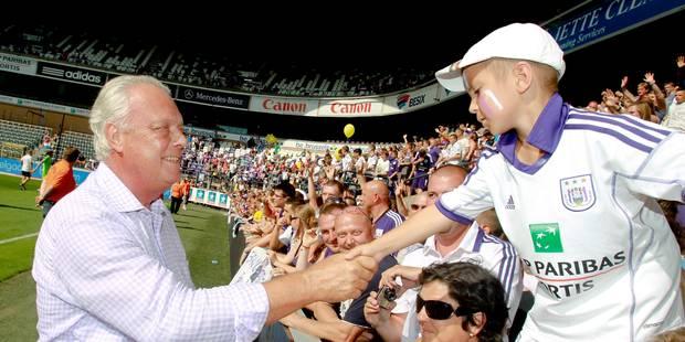 Anderlecht organisera son Fan Day le vendredi 25 juillet