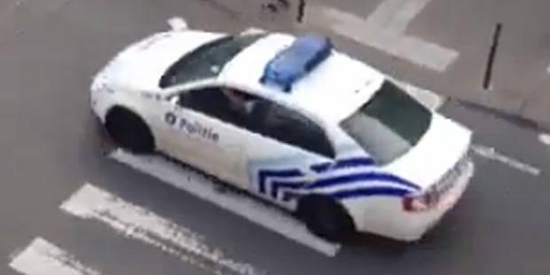 Quand la police fait du bruit pour les Diables - La DH