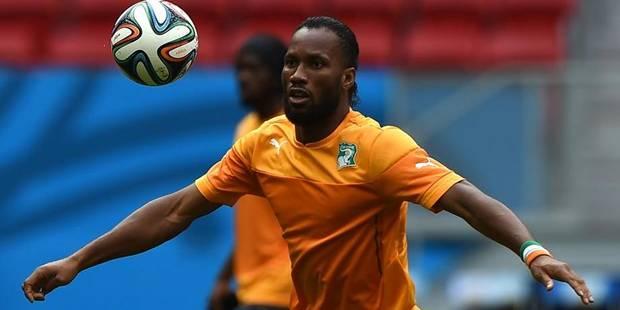 Lamouchi ne promet pas une place de titulaire à Drogba - La DH