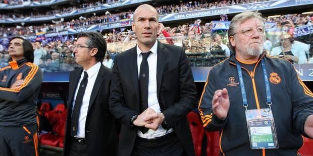 Zidane à la tête de l'équipe réserve du Real Madrid - La DH