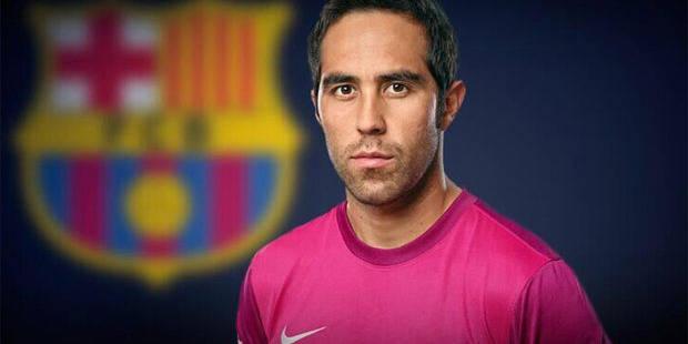 Claudio Bravo s'engage pour 4 ans avec le Barça - La DH