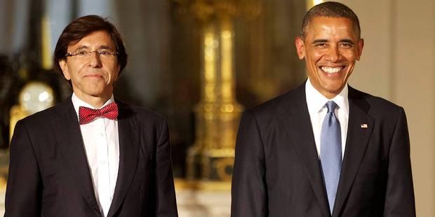Di Rupo parie des bières avec Obama - La DH